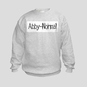 Abby Normal 2 Kids Sweatshirt