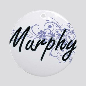 Murphy surname artistic design with Round Ornament