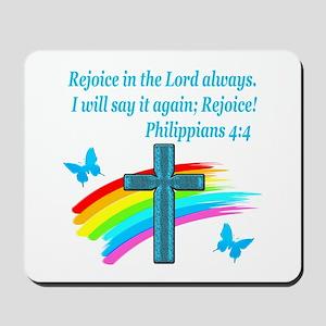 PHILIPPIANS 4:4 Mousepad