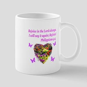 PHILIPPIANS 4:4 Mug