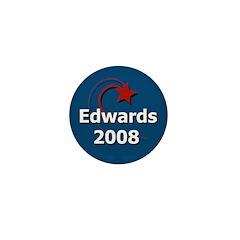 John Edwards 2008 Star Small Button