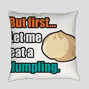 Dumpling Everyday Pillow