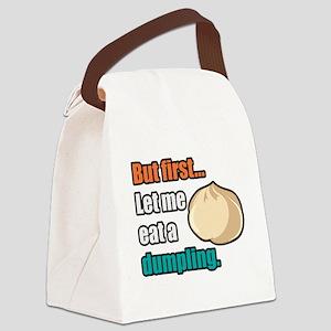 Dumpling Canvas Lunch Bag