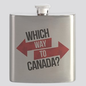 Which Way To Canada? Flask