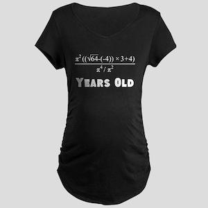 Algebra Equation 40th Birthday Maternity T-Shirt