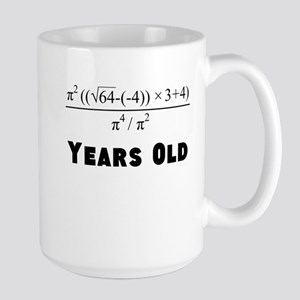 Algebra Equation 40th Birthday Mugs