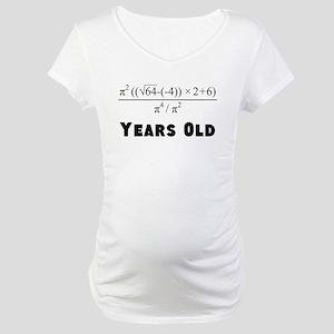 Algebra Equation 30th Birthday Maternity T-Shirt