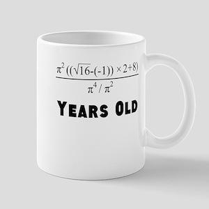 Algebra Equation 18th Birthday Mugs