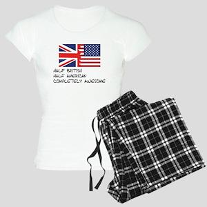 Half British Completely Awesome Pajamas