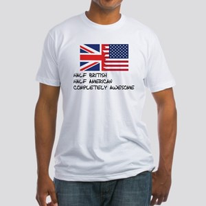 Half British Completely Awesome T-Shirt