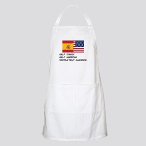 Half Spanish Completely Awesome Apron