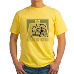 Baby Crossword Puzzle Yellow T-Shirt
