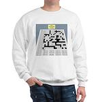 Baby Crossword Puzzle Sweatshirt