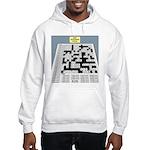 Baby Crossword Puzzle Hooded Sweatshirt