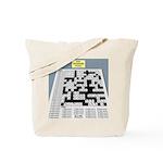 Baby Crossword Puzzle Tote Bag
