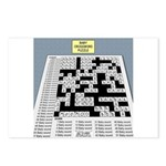 Baby Crossword Puzzle Postcards (Package of 8)