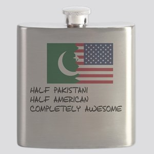 Half Pakistani Completely Awesome Flask