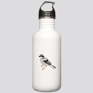 Coal tit bird Stainless Water Bottle 1.0L