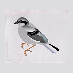 Coal tit bird Throw Blanket