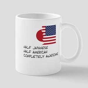 Half Japanese Completely Awesome Mugs