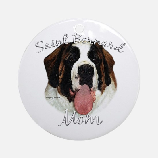 Saint Mom2 Ornament (Round)