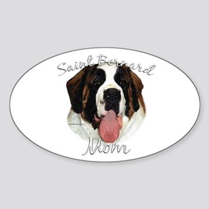 Saint Mom2 Oval Sticker