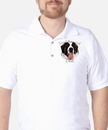 Saint Dad2 Golf Shirt