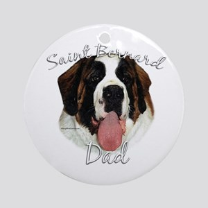 Saint Dad2 Ornament (Round)