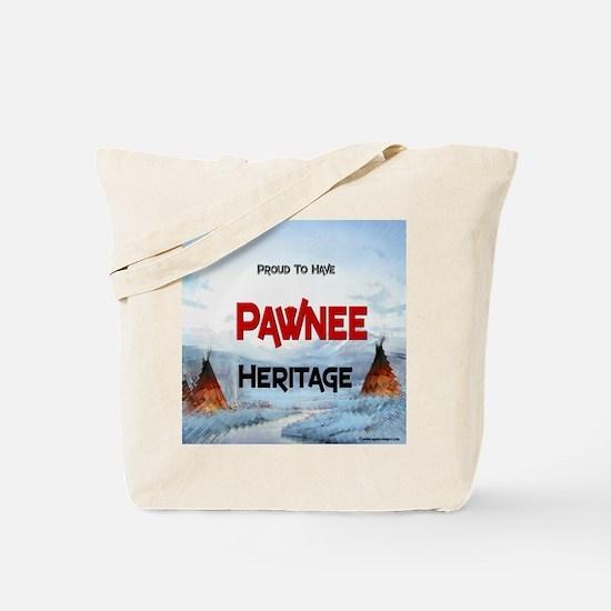 Pawnee Heritage Tote Bag