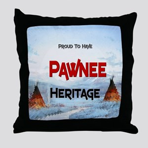 Pawnee Heritage Throw Pillow