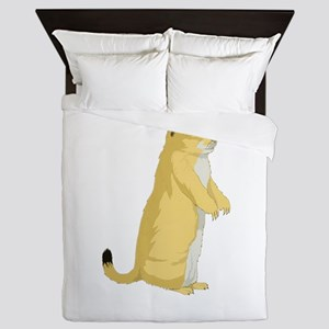 Ground squirrel Queen Duvet