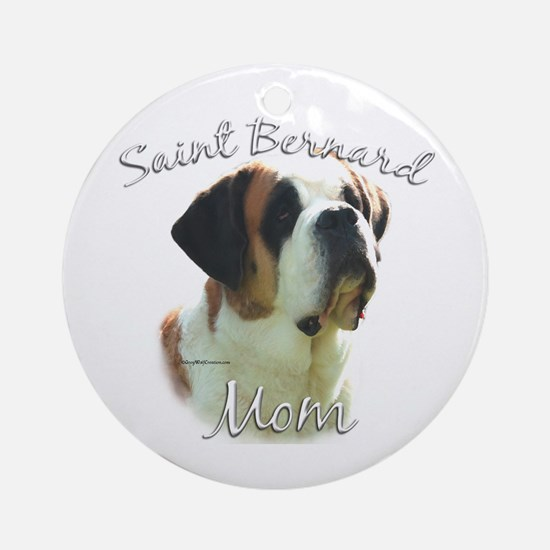 Saint Mom2 Ornament (Round)
