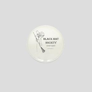 Black Hat Society Mini Button