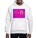 Sexy Receptionist Hooded Sweatshirt