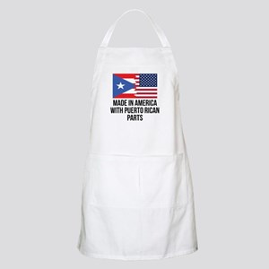 Made In America With Puerto Rican Parts Apron