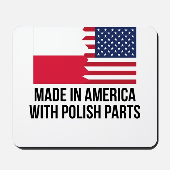 Made In America With Polish Parts Mousepad