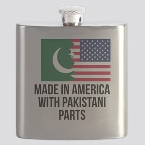 Made In America With Pakistani Parts Flask