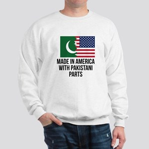 Made In America With Pakistani Parts Sweatshirt