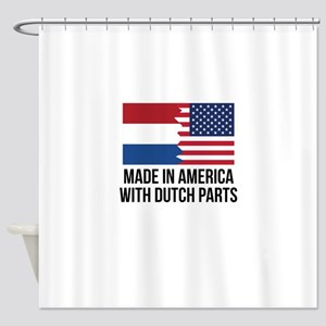 Made In America With Dutch Parts Shower Curtain