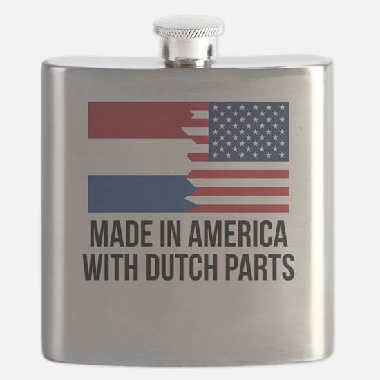 Made In America With Dutch Parts Flask