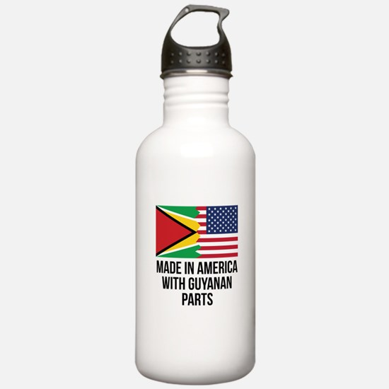 Made In America With Guyanan Parts Water Bottle