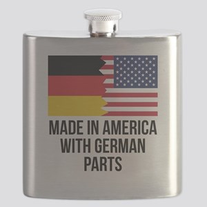 Made In America With German Parts Flask