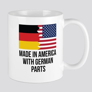 Made In America With German Parts Mugs