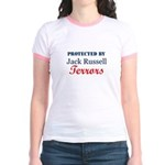 Protected by JRTerrors! Jr. Ringer T-shirt