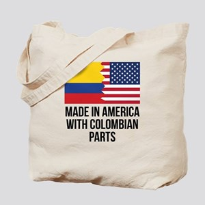 Made In America With Colombian Parts Tote Bag