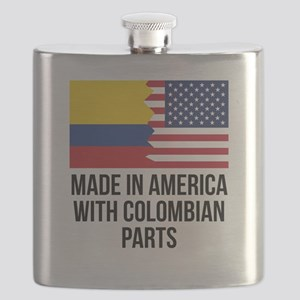 Made In America With Colombian Parts Flask