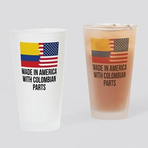 Made In America With Colombian Parts Drinking Glas