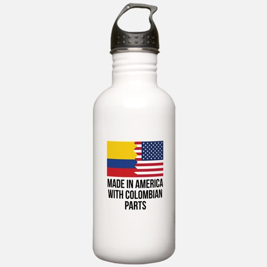 Made In America With Colombian Parts Water Bottle