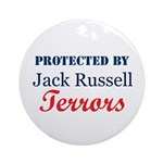 Protected by JRTerrors! Ornament (Round)