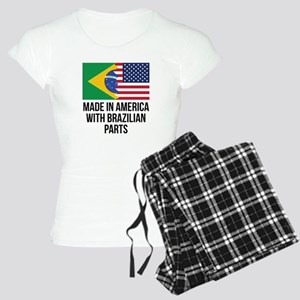 Made In America With Brazilian Parts Pajamas